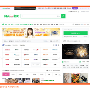 Naver search engine view - LocAtHeart translation agency